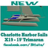 Charlotte Harbor Sails X19 Trimaran
